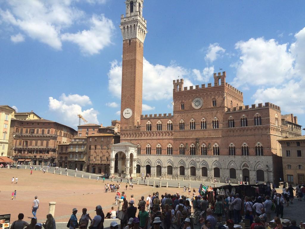 Siena - Piazza del Campo Kappa Tur mu? Asla… Baştan Başa Büyük İtalya Turu 4.Bölüm Siena