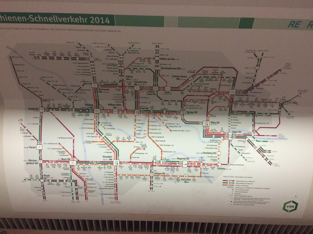 Köln S U Tren Avrupa'nın Ortası: Köln