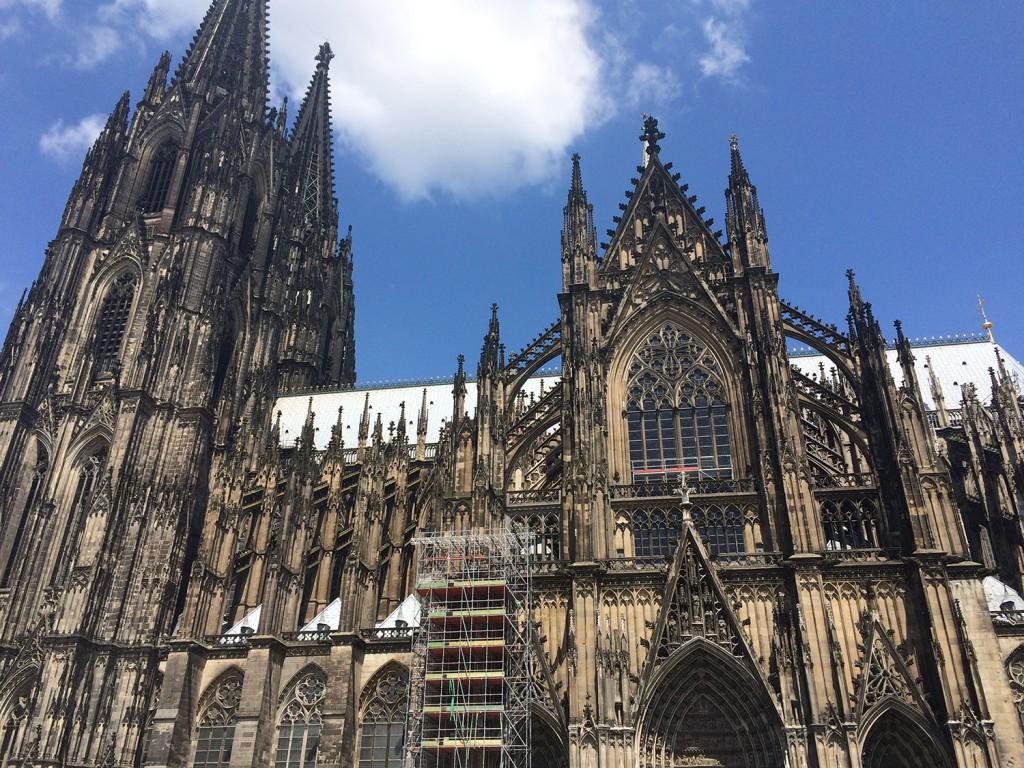 Köln Dom Avrupa'nın Ortası: Köln