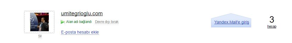3 Yandex Kurumsal(Bireysel) Mail Kurulumu