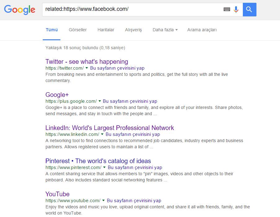Google_Benzer Elim, Ayağım, Google. Arama Yapmayı Biliyor muyuz?