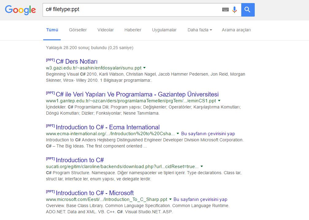 Google_Uzanti Elim, Ayağım, Google. Arama Yapmayı Biliyor muyuz?