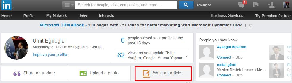 Linkedin_Pulse1 Linkedin Pulse Nedir, Nasıl Kullanılır?
