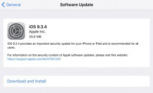iOS-9.3.4-update IOS 9.3.4 Yayınlandı