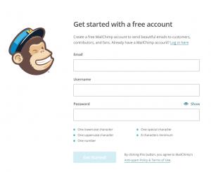 mailchimp2 Ücretsiz Mailing Servisi MailChimp ve WordPress Entegrasyonu