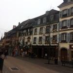 Colmar Sokakları Fransa'nın Masallar Köyü Colmar