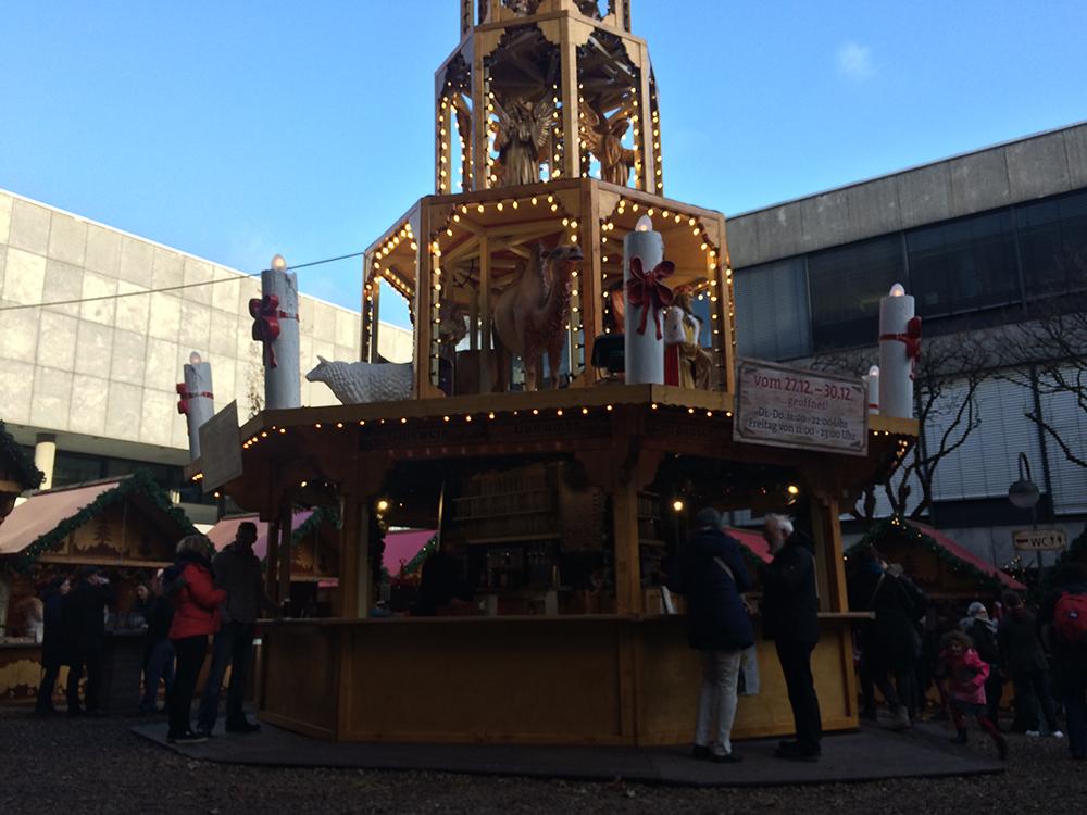 Christmas Market Köln, Cologne Almanya'daki Küçük Türkiye