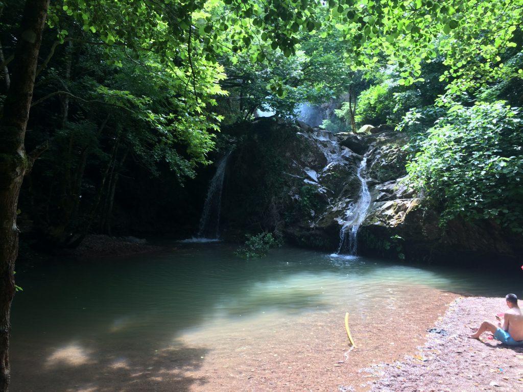 Hacıllı Şelalesi - Alt Kısım Kamp Rotamız Hacıllı Köyü Şelaleleri