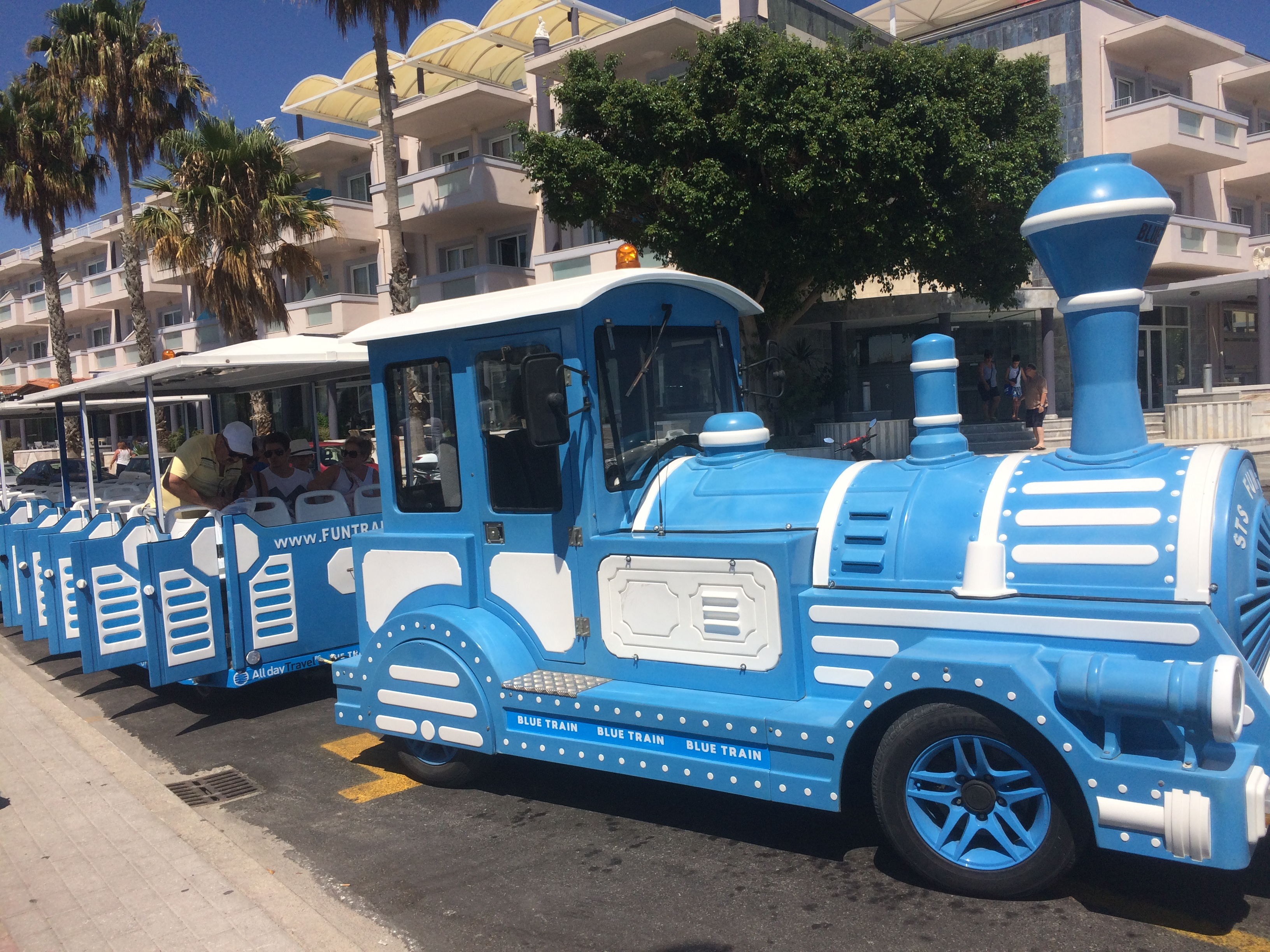 Blue Train - Kos Bodrum'un Karşısındaki Avrupa Kos Adası – İstanköy