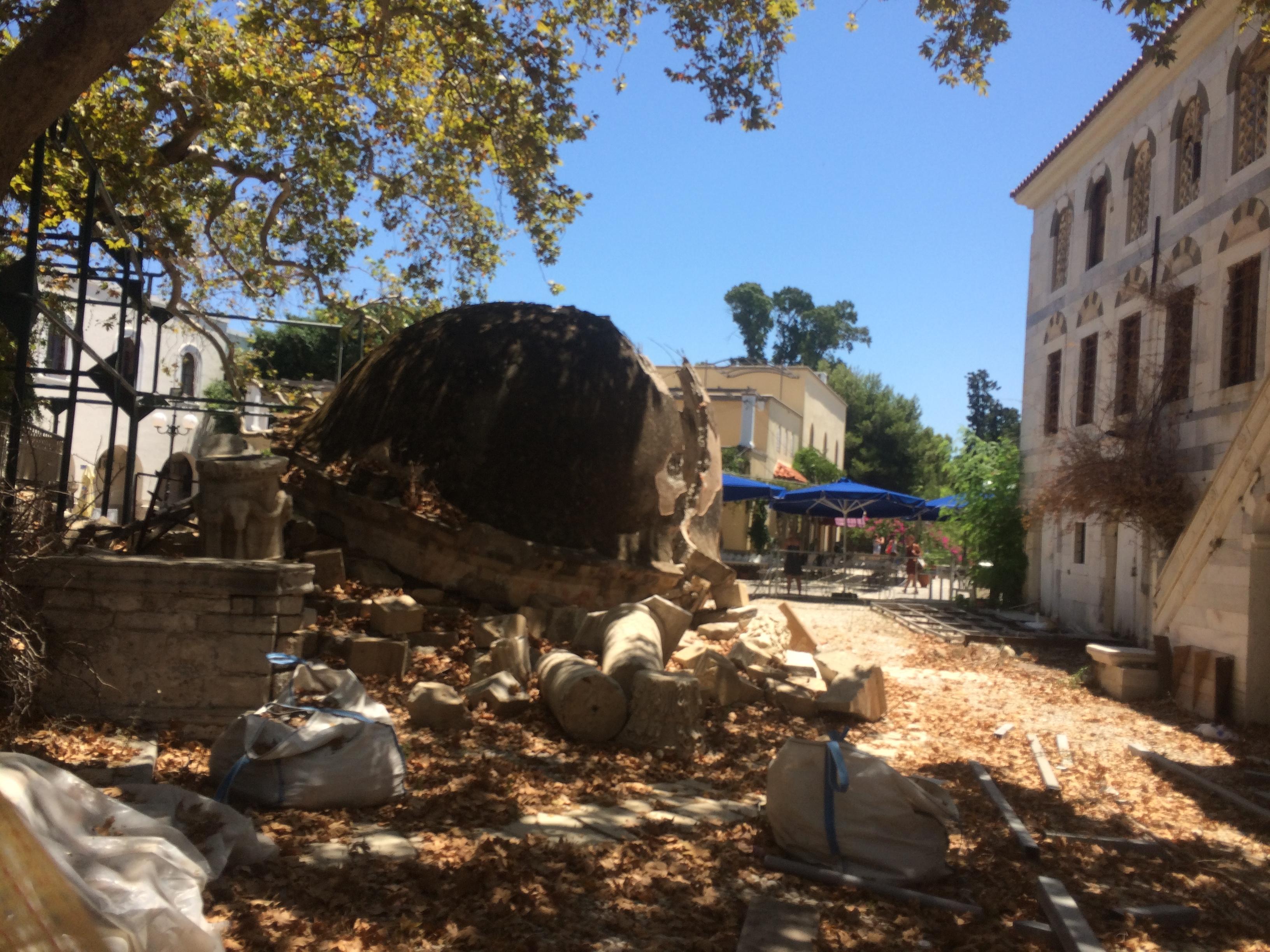 Cezayirli Hasan Paşa Camii Bodrum'un Karşısındaki Avrupa Kos Adası – İstanköy